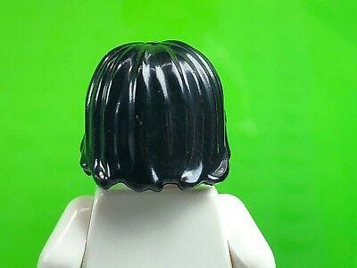 LEGO Dark Orange Mid Length Tousled with Center Part Minifigure Hair Piece