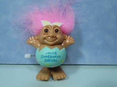 "EASTER WACKY WABBIT MAGNET 2/"" Russ Troll Doll NEW WITH RUSS STICKER"