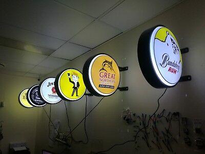 Bundaberg Rum Bundy Bear LED Doublesided Lightbox Light Box 240v 400mm