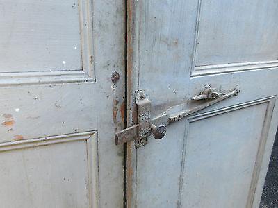 """pAIR ~ LATE 19th century antique furniture CABINET DOORS 74.5"""" x 21"""" & 18.25"""" 5"""