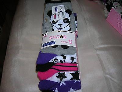 5 Pairs Socks for Girl EU 23/26 2