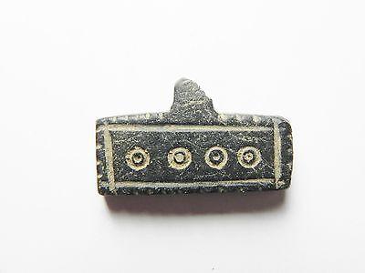 Zurqieh - Ancient Egypt , Byzantine Stone Pendant, 600 - 800 A.d 2