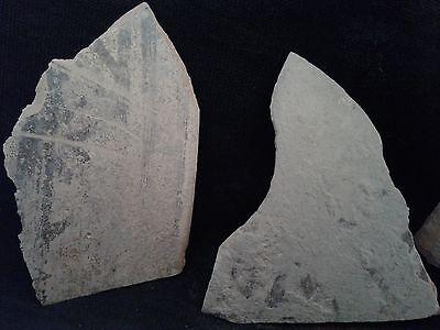 Ancient Teracotta 4 Shards Bronze Age 2000 BC     #JB103 2