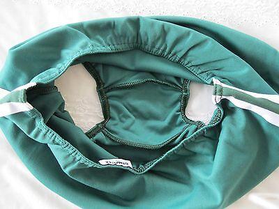 Ladies/Girls Gymphlex XL 100% Bri Nylon Bottle Green Gym Knickers (W 30 - 38In) 3