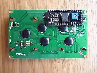 IIC/I2C/TWI 2004 20X4 LCD Display Module for Arduino