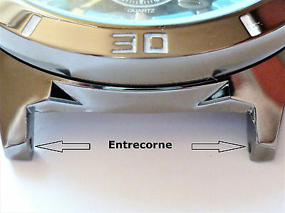 2 Barrettes ressort pompe piston tige bracelet de montre 16/18/20/22/24/27 mm 2