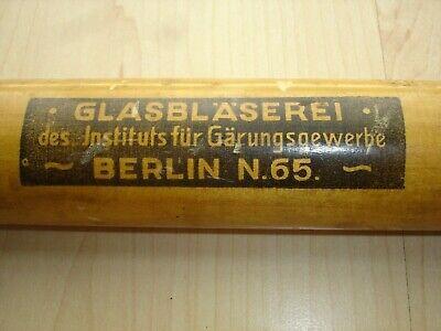 41cm Alkoholmeter mit Holzzylinder aus dem 1930 Jahren, absolut selten, Unikat 2