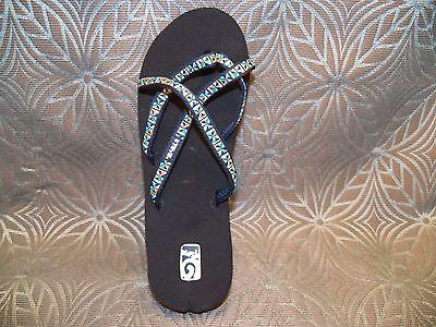 01e9b2047 ... New Womens Teva Mush Mandalyn Wedge Ola 2 Mosaic Blue Strappy Sandals  Flip Flops 2