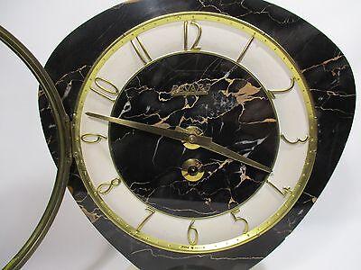 Antique Pendulum Clock Mecanique Bayard Vintage Clock Pendulum Orologio 12