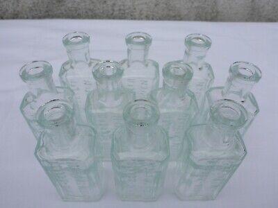 2x alte kleine Medizin Glas Apotheke Apotheker Flasche Maria Zeller Magentropfen 3