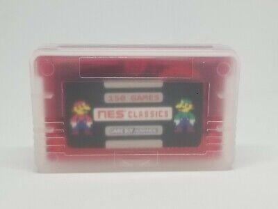 150 in 1 NES Retro Games Gameboy Advance SP Classic MARIO  ZELDA videogames 6