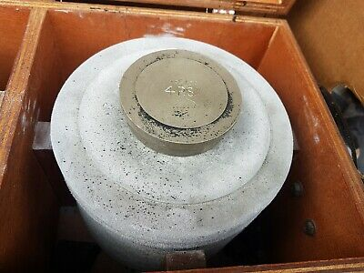 Cased Set Of Calibrator Test Weights PSI  Dead 2
