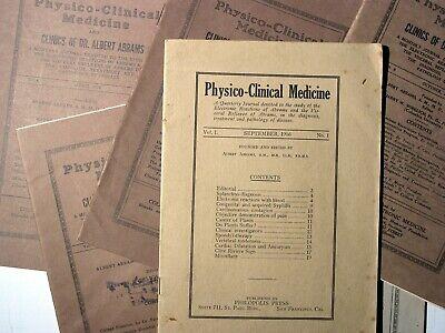 Abrams Quack Medical Journals - Digital Copies - Physico Clinical Medicine 2