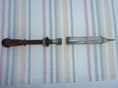 Biedermeier Instrument Klistier antik