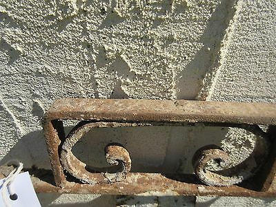 Antique Victorian Iron Gate Window Panel Fence Architectural Salvage Door #400 5