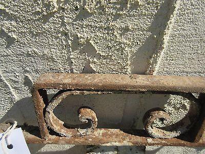 Antique Victorian Iron Gate Window Panel Fence Architectural Salvage Door #400 5