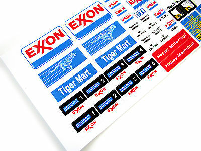 Etc STICKERS for CUSTOM LEGO 6375 6397 7993 Shell Service Gas Station BUILDS