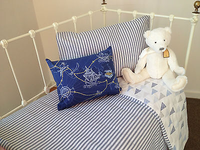 3 pc Baby Boys Cooper Cot Cover Quilt & Pillow Case Crib Nursery Bedding 2