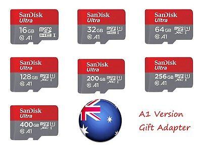 SanDisk Micro SD Card 16G 32G/64G/128G/200GB Class 10 SDHC SDXC Memory Card AU 2
