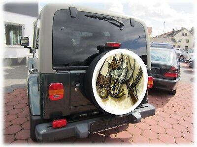Jagd Reserveradabdeckung Reifencover Rad Bezug Honda Suzuki Vitara 68x21cm 4x4 3