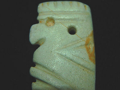 Pre-Columbian Anthropomorphic Pendant, 100% Authentic 3