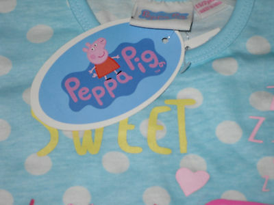 Boys/Girls Pyjamas Official Peppa pig or George Pig 7