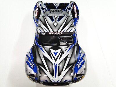 NEW TRAXXAS SLASH 1//10 2WD Body Factory Painted BLUE PROGRAPHIX VXL RL4B