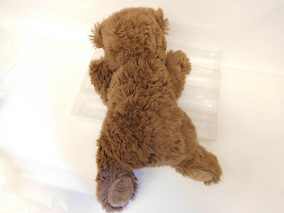 MES-58868Steiff Teddy-Bär,L. ca. 35 cm,weichgestopft,mit Knopf und Fahne 5