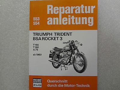 Triumph Trident+BSA Rocket 3  Reparaturanleitung Reparatur-Buch//Handbuch//Wartung