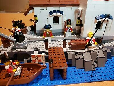 LEGO pirates Imperial Soldiers Knight Armada MINIFIG LOt shooting Cannon Battle