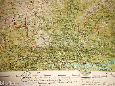 Bartholomew's Survey Map for Tourists & Cyclists - Bedford/Hertford - c1915 (25) 3