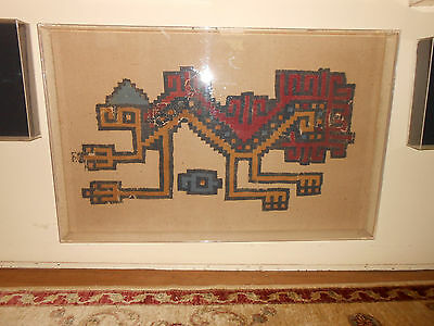 Ancient Pre Columbian Textile From Peru