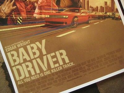 """Baby Driver  (11"""" x 17"""") Movie Collector's Poster Prints (Set of 3) 2"""