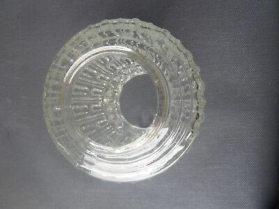 ANTICO PARALUME PER applique in vetro conico art deco