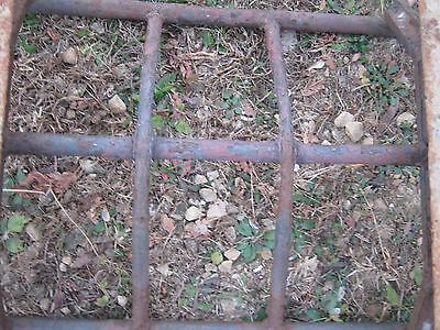 Vintage Primitive Rustic Rusty Handmade Welded Fireplace great for decor 8