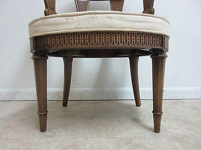 Vintage Italian Regency Fireside Side Lounge Living Room Side Chair B 7