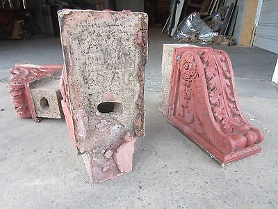 ~ Great Set Of Antique Stone Corbels ~ Architectural Salvage ~ 6