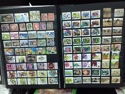 100 Australia Kiloware Used stamps off Paper - buy 2 - 5 lots ( all different ) 2