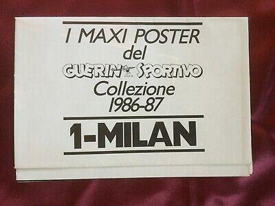 Autografo originale ROBERTO DONADONI-AC Milan 86/87 su Poster 80x53cm-IN PERSON! 2