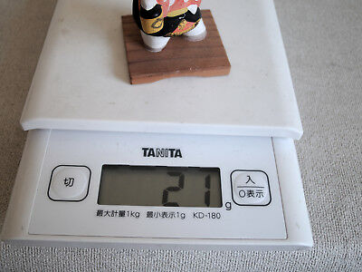 1.5 inch Japanese Antique Clay Doll 10