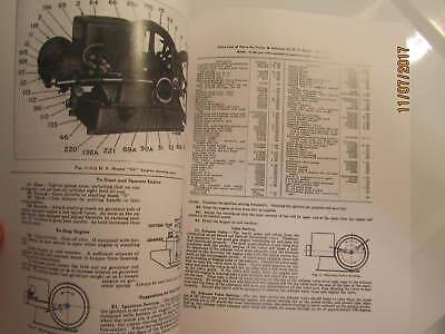 1928 3 1/2HP NC Fuller Johnson  Gas Engine Operating Instructions/Parts Manual 2
