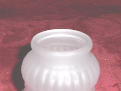 """ruffled clear frosted glass lamp shade replacement  /"""" fitter, Lighting ideas"""