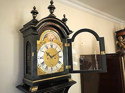 Blagden Chichester 18thc  Longcase in The Form of a Bracket Clock on Pedestal 6