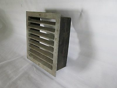 Vintage Metal Square Heat Vent, Salvaged Steampunk 2