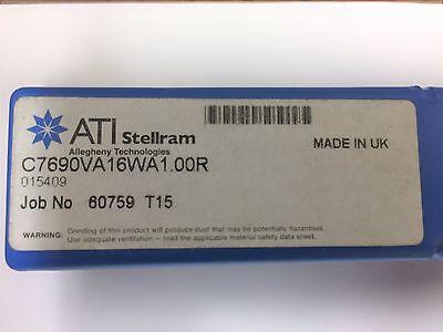 """Kennametal Stellram Milling Cutter Indexable #7690VA16WA1.00R #015409 1"""" Diam."""