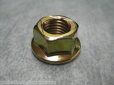 Ships Fast! 10mm Exhaust Manifold Flange Lock Nuts M10x1.25 Pack of 7