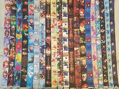Pick One! Disney World Lanyard For Pin Trading! Mickey Minnie Nemo Marvel B3G1 5