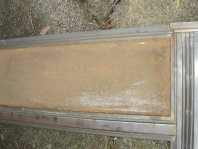 Antique Bronze Teller Window, or Divider or Sign Holder.8381 11