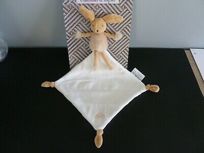 doudou hérisson gaston marron chiné mouchoir blanc escargot baby nat/' état neuf