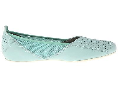 afd4dc01 ... PATAGONIA Maha BALLET Perf FLAT Slip-On LEATHER Breathe SHOES Aqua BLUE  Women sz 8